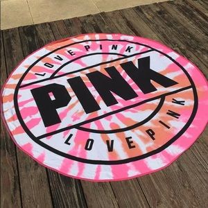 NWT Pink Victoria Secret towel.